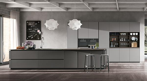 Cucina moderna Stosa Frame