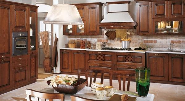 Cucina classica Stosa Focolare